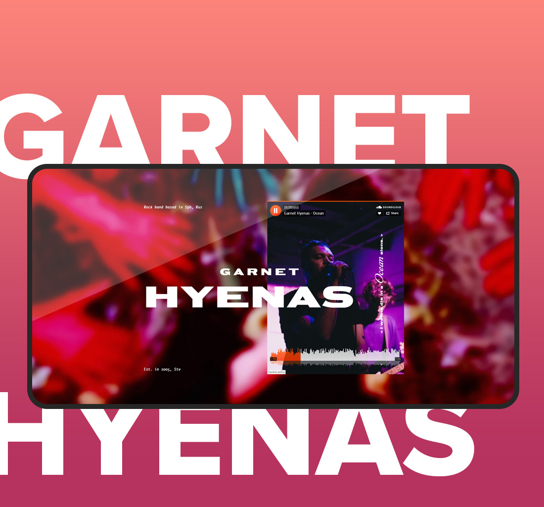 Gatnet Hyenas | Промо-сайт