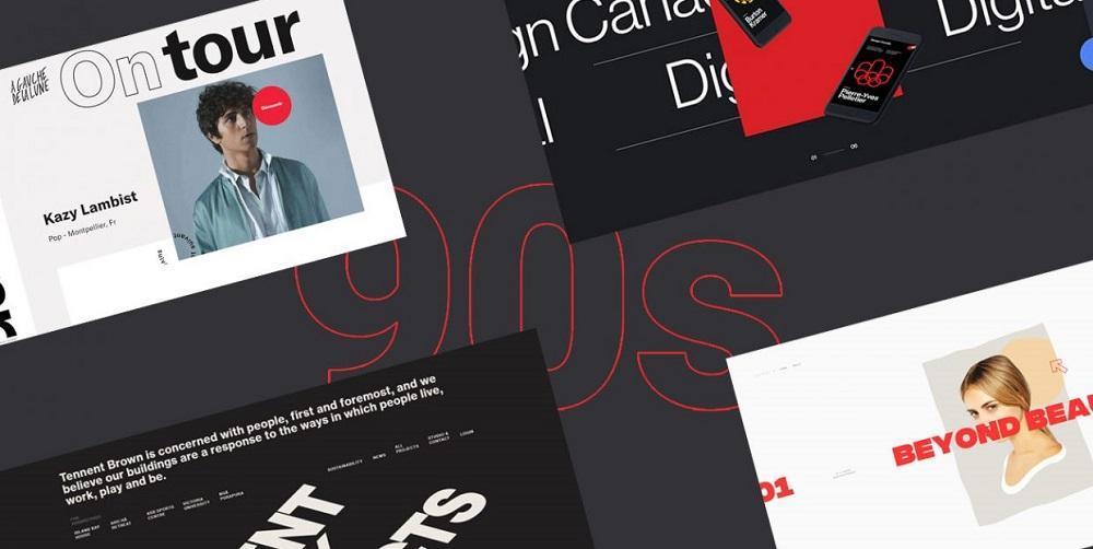 Тренды веб-дизайна 2020: девяностые возвращаются!